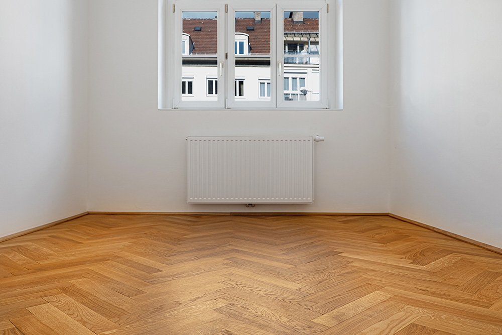 Wenisch Holz Referenz Fischgrätboden Innsbruck Zimmer
